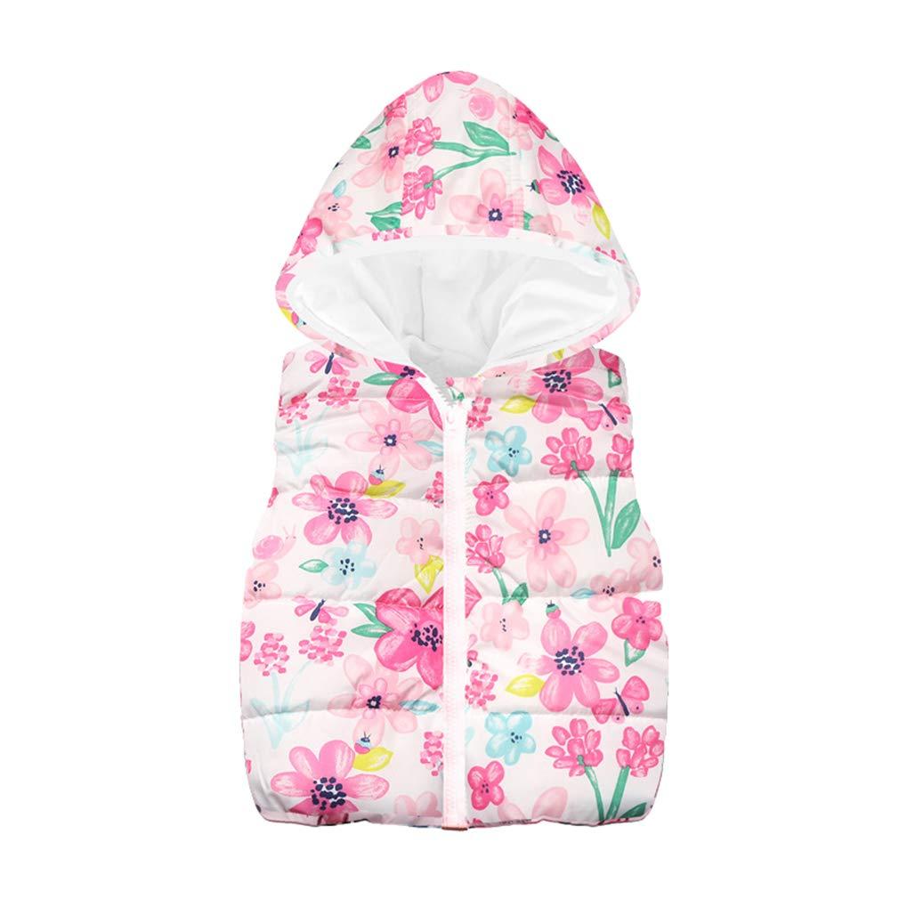 Mxssi Boys Vest Jacket HoodNew Autumn Winter Cute Cartoon Stampato Gilet per Bambini Vest Abbigliamento per Bambini