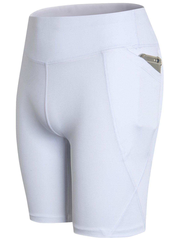 Lavento Women's Compression Shorts Pocket Workout