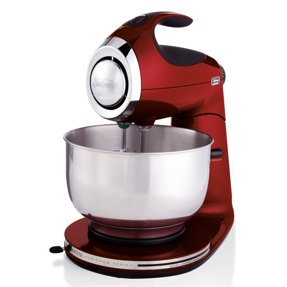 Sunbeam FPSBSM21MR Heritage Series Stand Mixer, Red