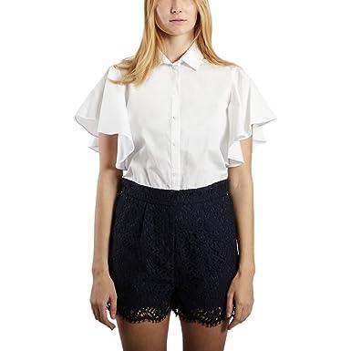 bd073de60d Amazon.com  Tara Jarmon Bi-Material Playsuit Summer Collection Women ...