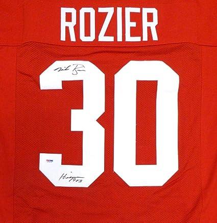 hot sale online 7cbab 3b806 Autographed Mike Rozier Jersey - Nebraska Heisman 1983 - PSA ...