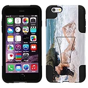 Trek Hybrid Stand Case for Apple iPhone 6 Plus - Brunette in the Water by Emiro