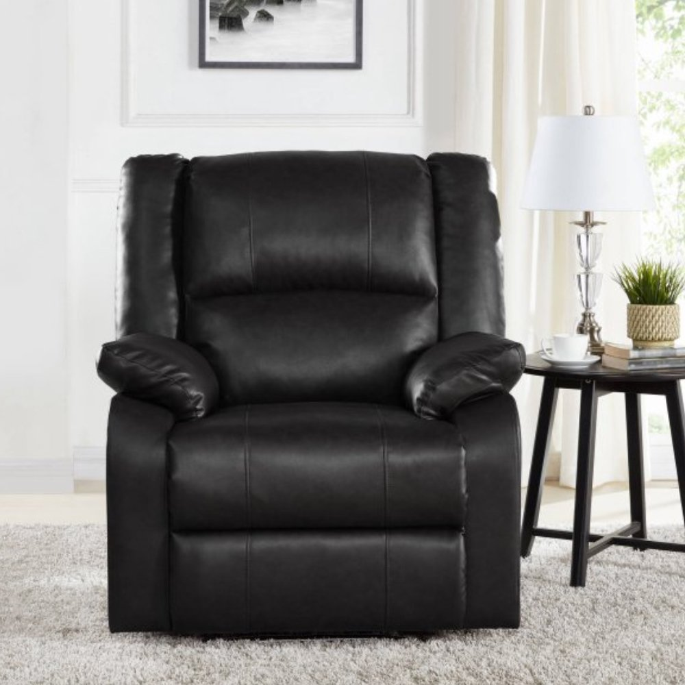 Furny Bristol Single Seater Recliner (Black)