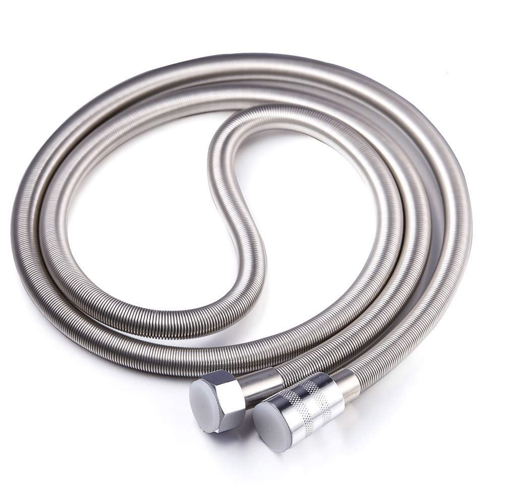 Artbath Stainless Steel Shower Hose Extra Long 79 Inch Length Flexible Chrome Hose Replacement for Bathroom Hand Shower Head (6.5 Ft,2.0M)