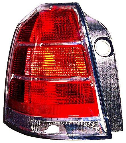 rojo Piloto trasero izquierdo blanco Iparlux 16536631 sin portal/ámparas