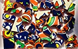 MOSAIC TILES ~ HAND CUT Pieces ~ Supply for Mosaics Arts & Crafts ~ Ready to Use Hand Painted & Cut Mexican Tile Pieces in Bright Color Coordinated Sets ~ (T#314)