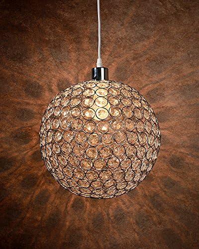 Lucide 71432/01/60 - Lampada da soffitto Ayla in acrilico e metallo, argento, argento