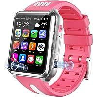 4G Smart Watch for Kids, Waterproof Kids Smart Watch voor IOS Android, met Sim-kaart en TF-kaart Dual Camera Wifi GPS…