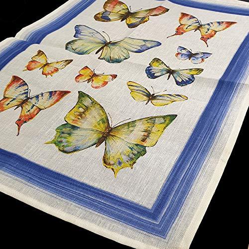 LAGARTERANA PA/ÑO//Trapo DE Cocina Mariposas