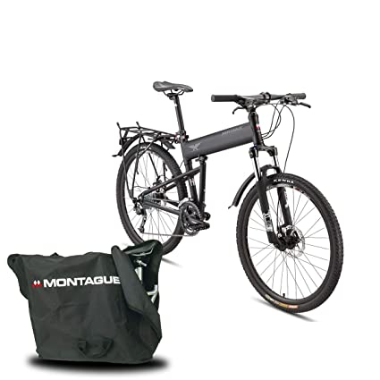 8b1a038ac75 Montague Paratrooper PRO Folding Mountain Bike Bike,Folding Bicycles for  Adults,Foldable Bike 20 inch Folding Bicycle Bundled Brand Carry Case and  Outdoors ...