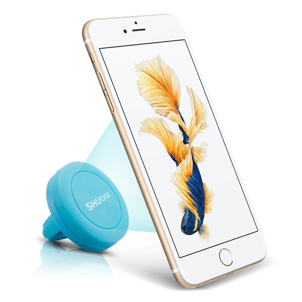 Shuoge Soporte magnético de móvil para rejilla de aire de coche para iPhone 6 / 6 Plus / 5 / 5S / 5C / 4 / 4S, Samsung Galaxy S6 / S5 ...