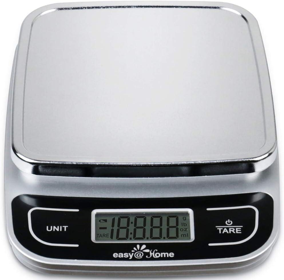 Bilancia da cucina alta precisione capacità 0.04oz e 11 libbre,digitale multifunzione scala di misurazione EKS-202