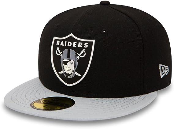 New Era Mujeres Gorras / Gorra plana Team Rubber Oakland Raiders ...