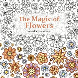 Amazon.com: The Magic of Flowers: Adult Colouring Book ...