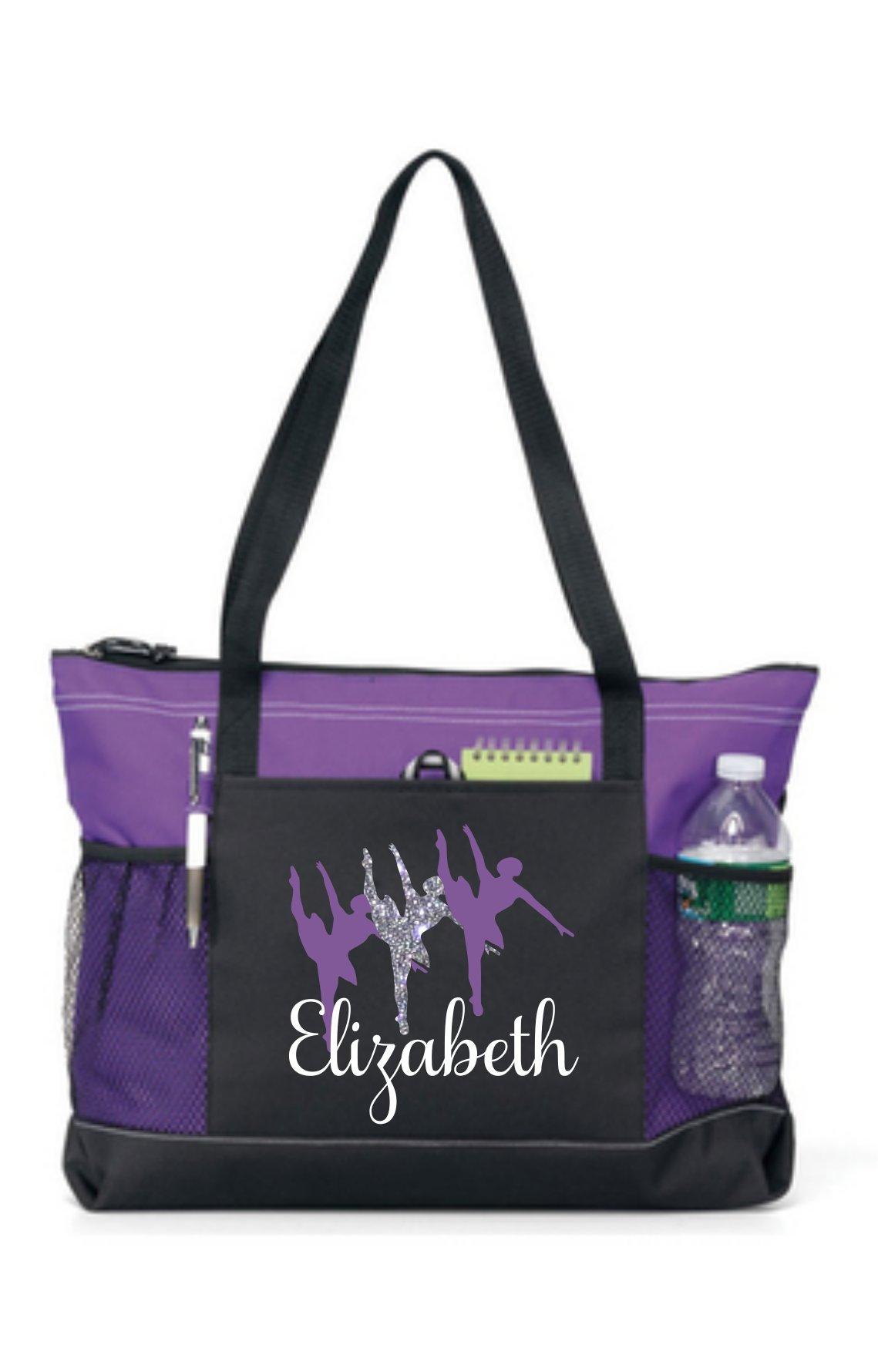 Purple Girls Dance Bag