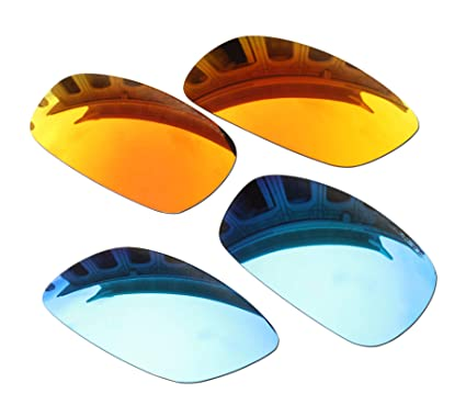 b6138e58e2 Image Unavailable. Image not available for. Color  2 Pairs BVANQ Polarized  Lenses Replacement ...