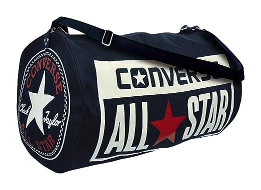 04c44ed5f06 Converse Unisex Umhängetasche Legacy Barrel Duffel Bag Navy: Amazon.co.uk:  Clothing