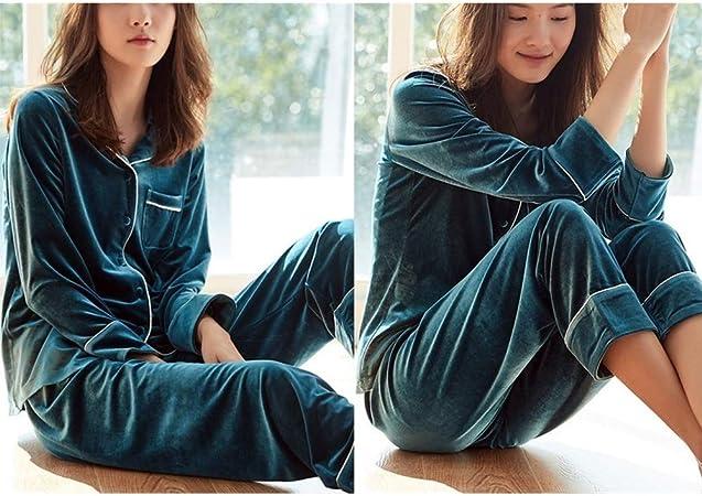 ASDFGG-hm Pijama de Mujer Vacaciones Pijama Largo Pantalones ...