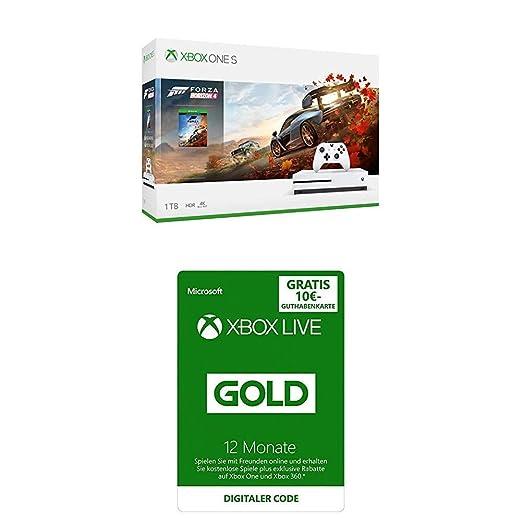 Xbox One S 1TB Forza Horizon 4 Bundle + Game Pass