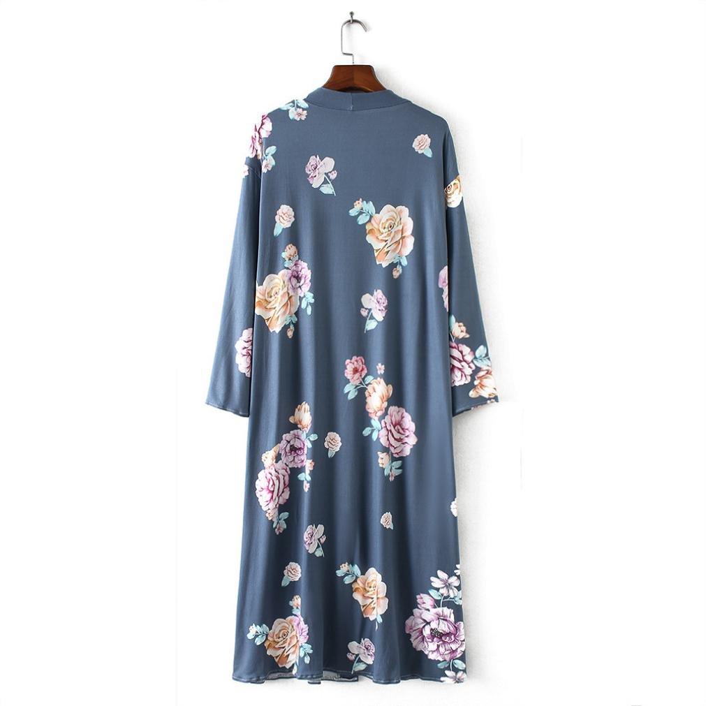 Textiles De Cárdigan Largo Mujer ❤️ Impresión Baño Amlaiworld tshrdxoCBQ