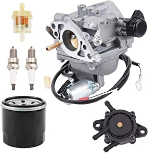 POEMQ GX620 Carburetor for Honda GX610 18HP GX620 20HP V-Twin Gas Engines GX610K1 GX610R1 GV610U1 Replace 16100-ZJ0-871 16100-ZJ1-872 16100-ZJ1-872 with Fuel Pump Oil Filter Fuel Filter