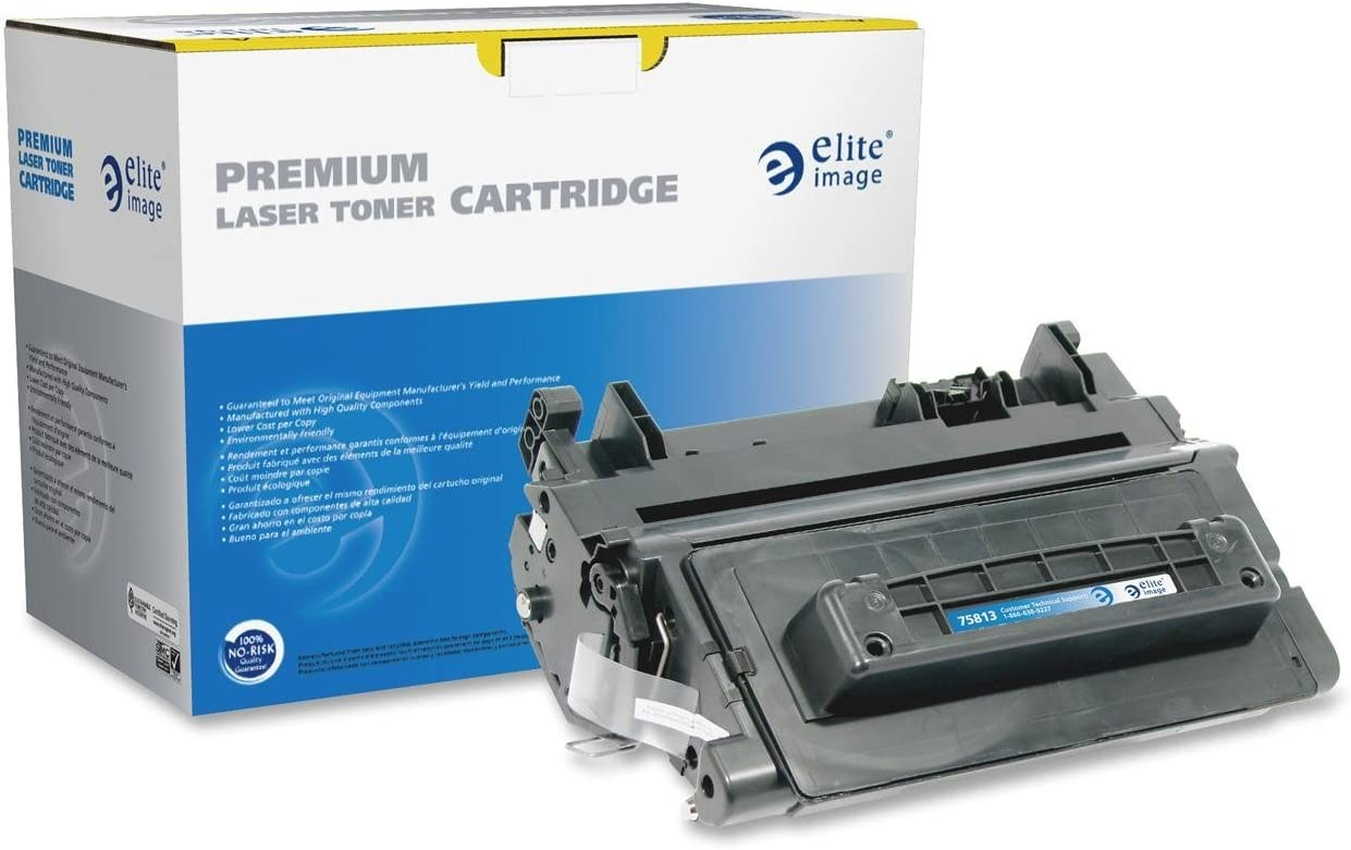 Black Super-Supply Compatible Toner Cartridge Replacement for HP CE390A