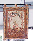 TAPESTRY LADY ON A SWING
