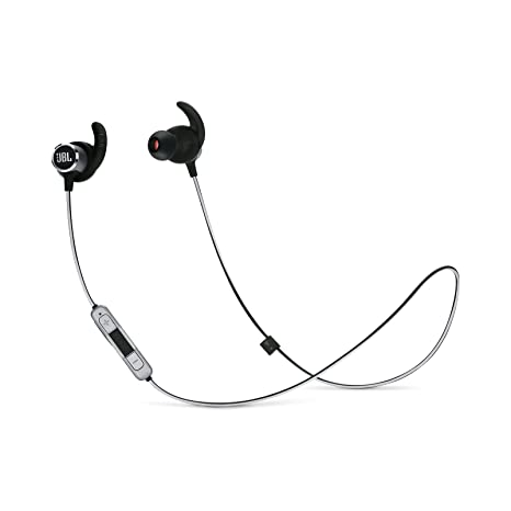 JBL Reflect Mini 2 - Auriculares deportivos inalámbricos ligeros, color negro