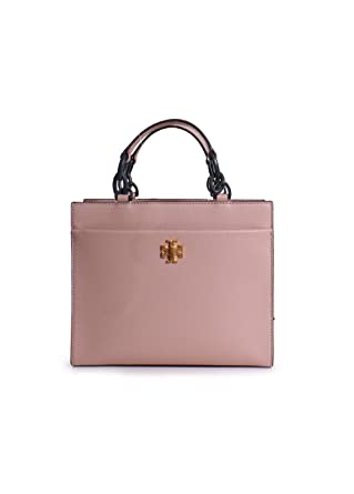 5046292138df Tory Burch Kira Leather Small Tote Handbag in Perfect Sand at Amazon  Women s Clothing store