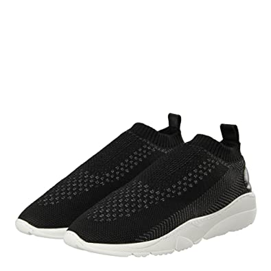 67dee95fa3a Filling Pieces Runner Sac Knit - Black Grey  Amazon.co.uk  Shoes   Bags