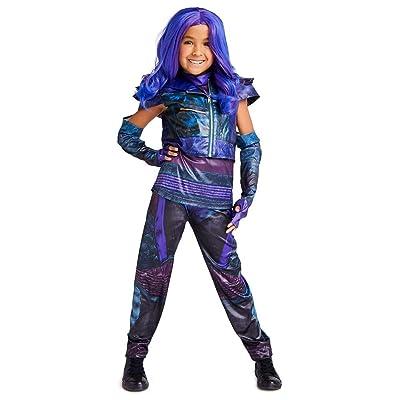 Disney Mal Costume for Kids - Descendants 3 Size Purple: Clothing