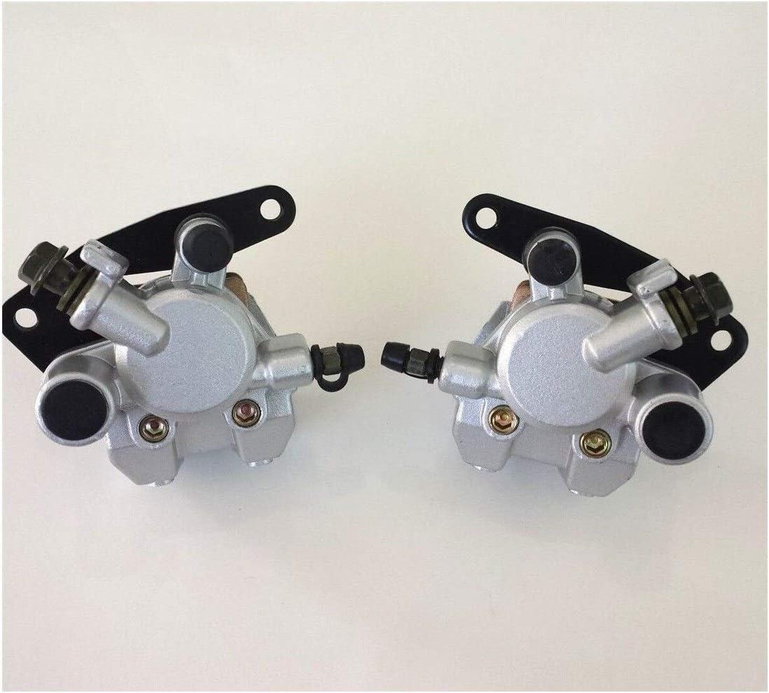TONGDAUR Motorrad Bremssattel Set vorne f/ür Suzuki ATV LTZ 400 Quad Sport 400 LT-Z400Z 2003-2012 Bremssattel mit Pads