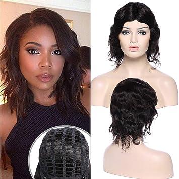 Perruque Femme Vrai Cheveux Bresilien Naturelle