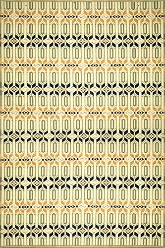 Mad Mats Moroccan Indoor/Outdoor Floor Mat, 4 by 6-Feet, - Floor Brick Mat