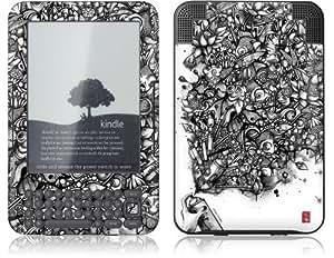 GelaSkins Kindle Skin (Fits Kindle Keyboard), Ink Pond