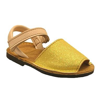La Auténtica , Damen Zehentrenner gelb gelb, gelb - gelb - Größe: 40