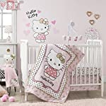Bedtime-Originals-Hello-Kitty-Luv-Hearts-4-Piece-Crib-Bumper-PinkWhite