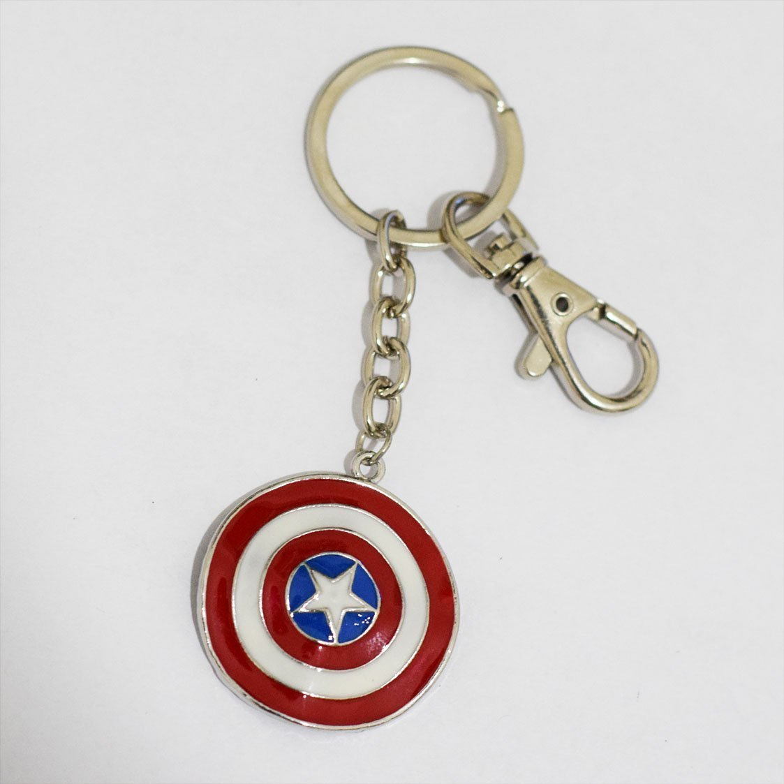 Captain America Shield clave Cadena Super Hero Llavero ...