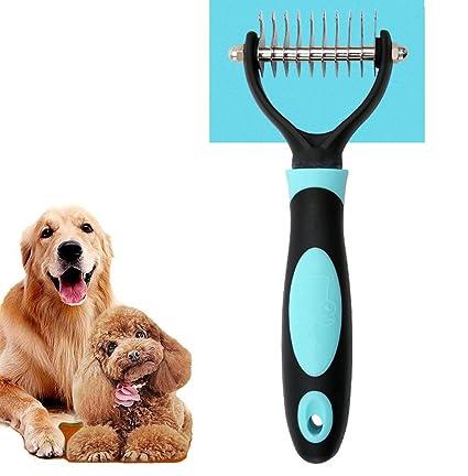 Amazon Com Ipetoo Pet Grooming Tool Pet Dematting Comb Undercoat