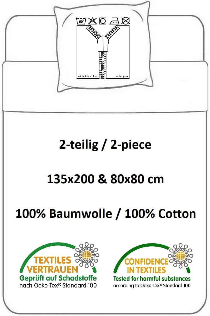 Peppa Pig Bettw/äsche bedlinen draps de Lit -Ropa de Cama biancheria da letto135x200cm PP191036-4