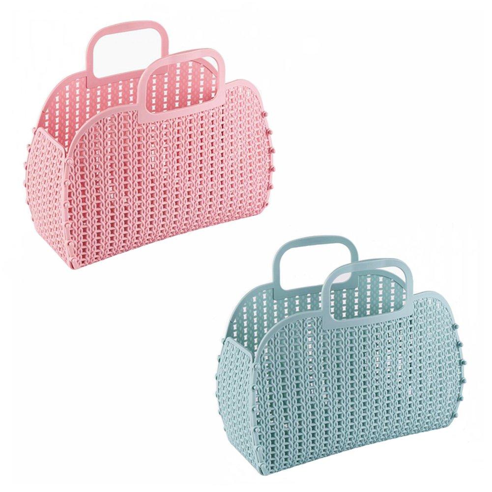 Amazon.com: Lydzlive Portable Plastic Shower Caddy College Dorm ...