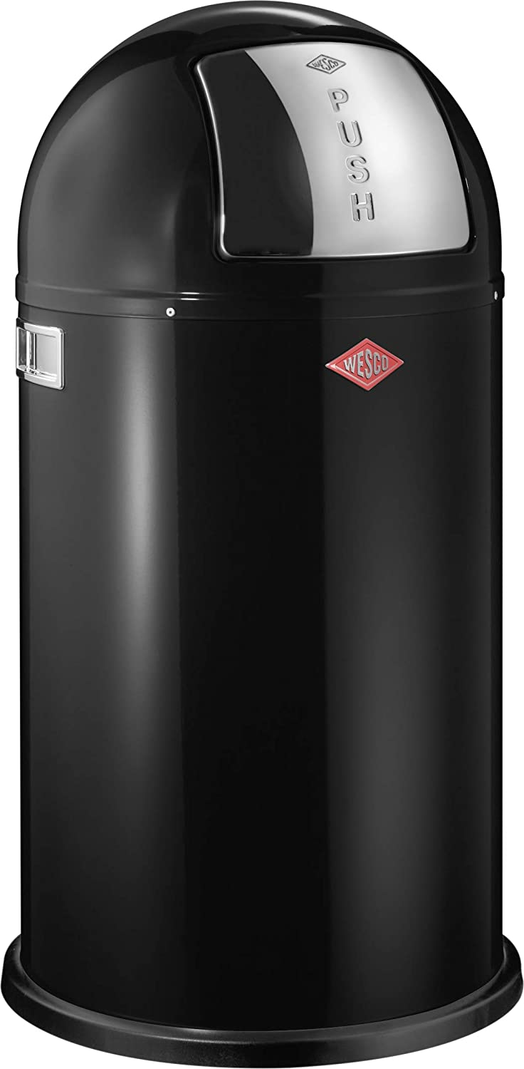 Wesco Pushboy - German Made - Push Door Trash Can