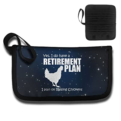 Yes, I Do Have A Retirement Plan Raising Chickens Travel Wallet Passport Holder Document Organizer