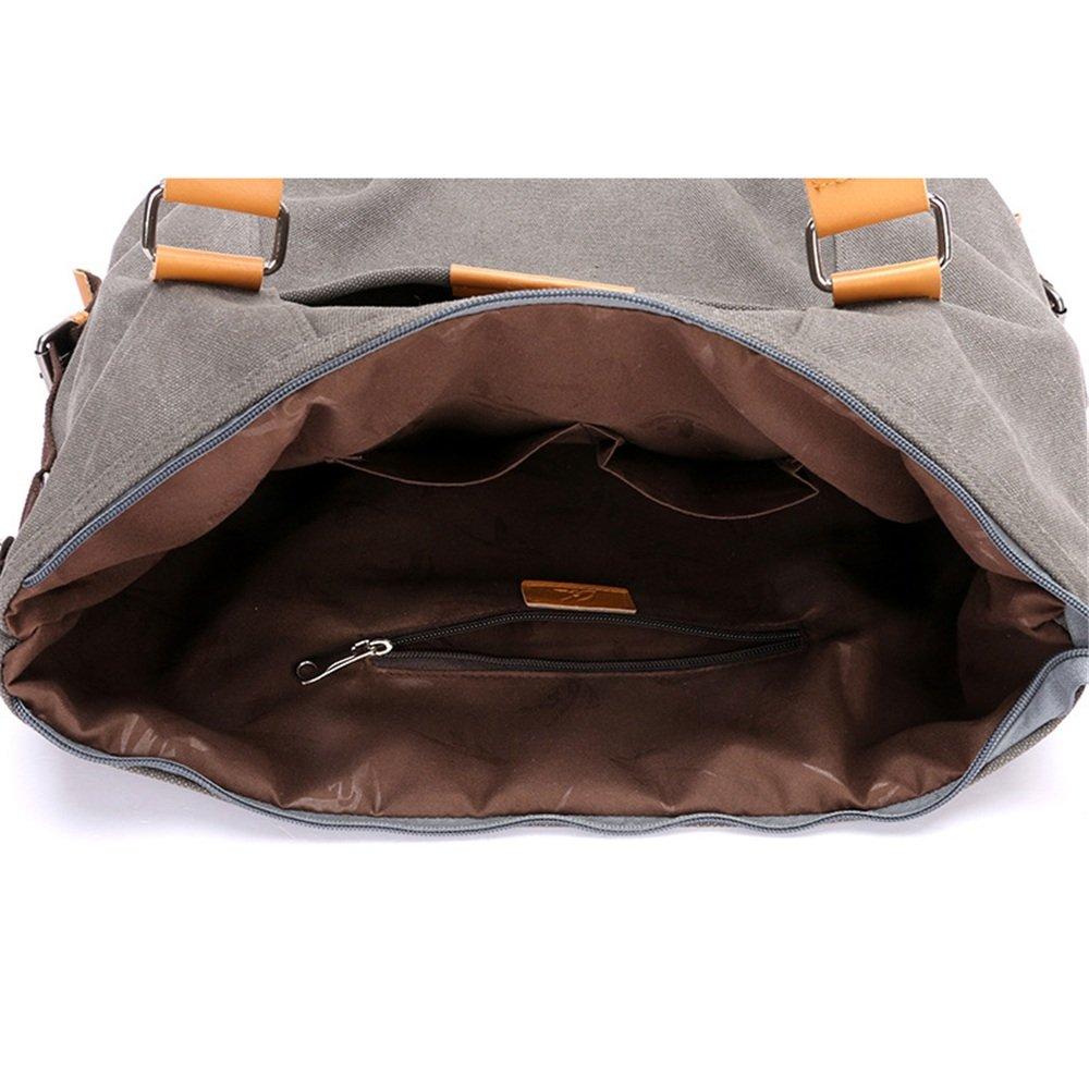 Travel Duffel Canvas Retro Fashion Leisure Single Shoulder Slung Shoulder Bag Large Capacity Travel Bag Gym Sports Luggage Bag Color : Red