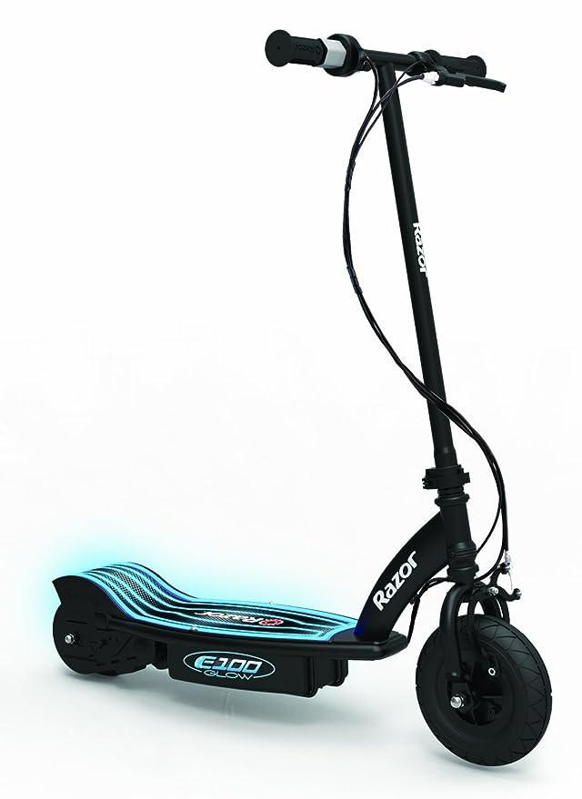 Razor E100 Glow Scooter eléctrico, Mixte, Negro, 0