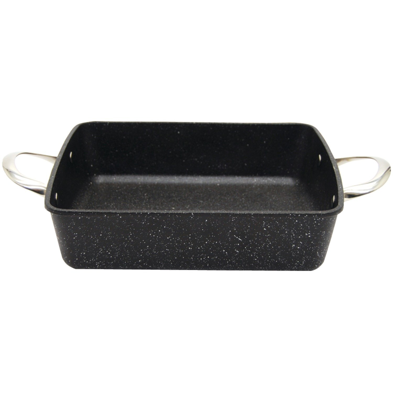 Starfrit The Rock Oven/Bakeware, 9'' by 9'' by 2'' Square, Black