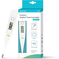 Medical Oral Thermometer for Fever, Body Temperature Fast Reading Oral Rectal Underarm Thermometer for Children Kids Adults & Babies