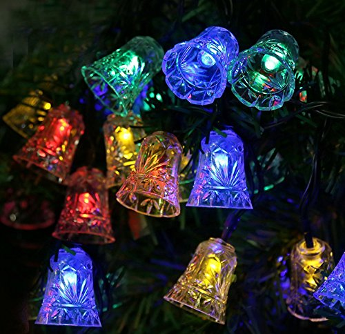 Christmas Bell Lights Outdoor