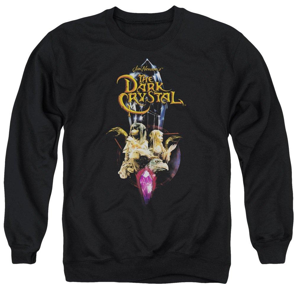 Dark Crystal Herren Sweatshirt Opaque Schwarz Schwarz