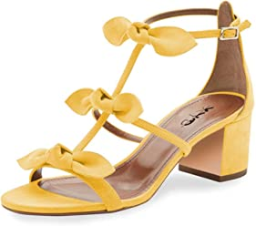 548919a712 XYD Prom Party Dress Shoes Cute T-Strap Block Heel Gladiator Sandals Open  Toe Bows
